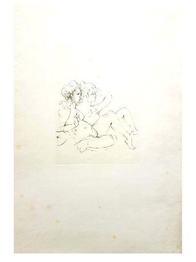 Leonor Fini, 'Leonor Fini Original Handsigned Lithograph - Surrealist Portraits ', ca. 1970