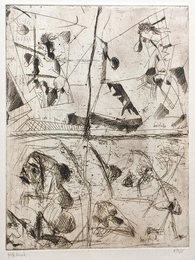 Josef Mikl, 'Abschied, der Weg, das Fenster', 1966