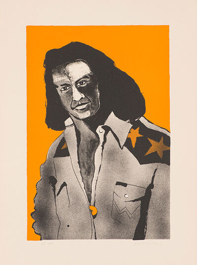Fritz Scholder, 'Artist at Forty as a Buffalo (T: 77-628)', 1977