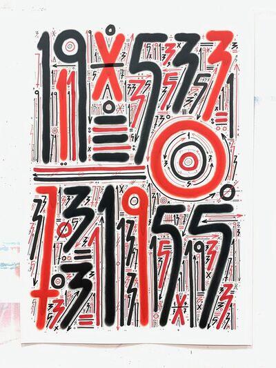 Sixe Paredes, 'Abstracción numérica', 2019