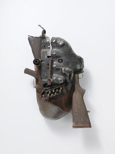 Gonçalo Mabunda, 'Le visage de l'obscurité', 2012