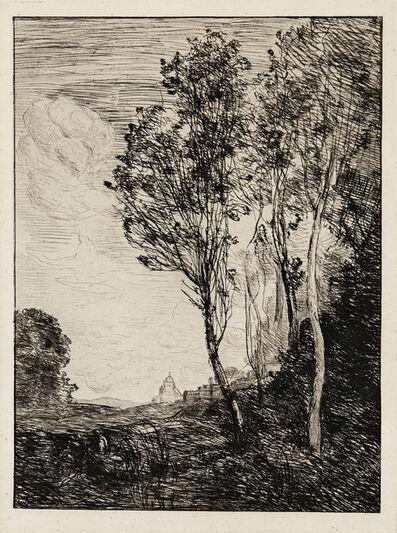 Jean-Baptiste-Camille Corot, 'Souvenir D'Italie', 1863