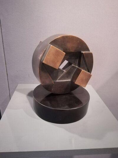 Giò Pomodoro, 'Disco Sole Oceano', 1982