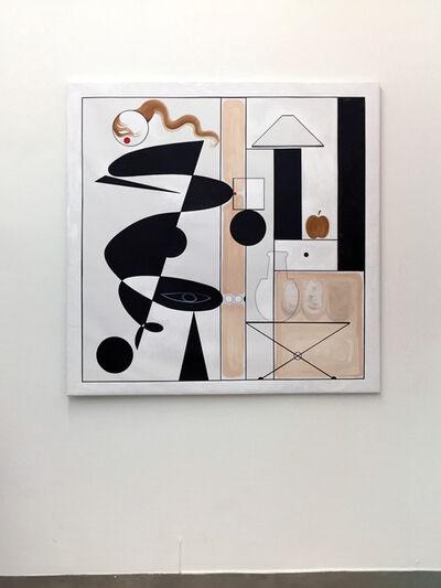 Adriana Minoliti, 'White Anormal Modulor', 2016