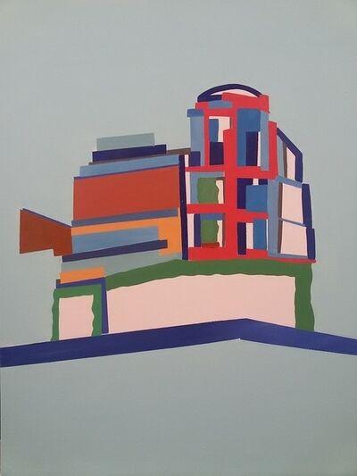 Vasilena Gankovska, 'Colouring the Structure VI', 2016