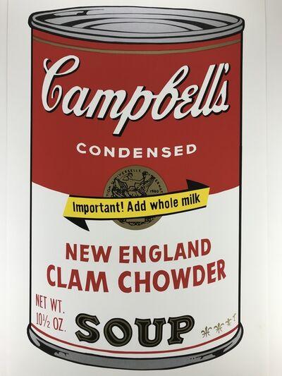 Sunday B. Morning, 'Campbells Soup – NEW ENGLAND CLAM CHOWDER', ca.1980