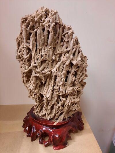 Ken Wong, 'Mad', natural stone