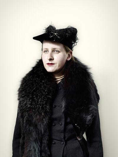 Jim Naughten, 'Civilian with Black Fox Fur', 2008