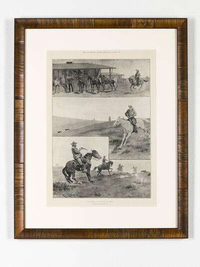 Brandon Ballengée, 'RIP Texas Gray Wolf: After Richard Caton Woodville, 1898', 2014