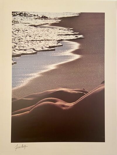 Lucien Clergue, 'Rare Early Lifetime Photographic Lithograph with Printed Signature', ca. 1980