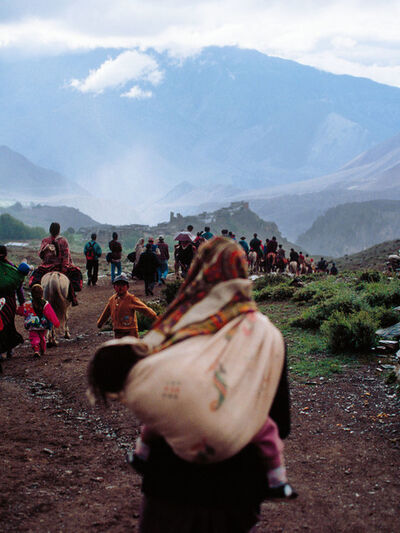 Ralf Schmerberg, 'Walk to the Clouds, Kagbeni, Mustang, Nepal', 1999