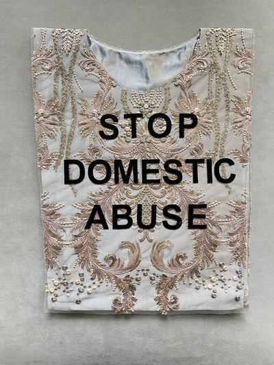 Ana de Orbegoso, 'Stop Domestic Abuse', 2020
