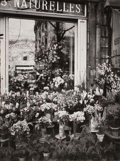 Eugène Atget, 'Boutique Fleurs (Flower Shop)', 1925