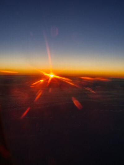 Ralf Schmerberg, 'Eternal Sun, Airplane Window, 42,000 feet', 2010