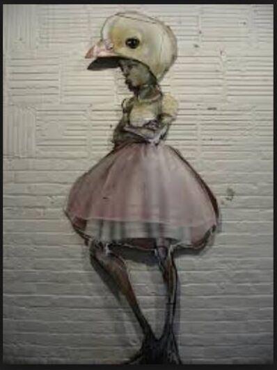 Herakut, 'Ballroom Chicken', 2009