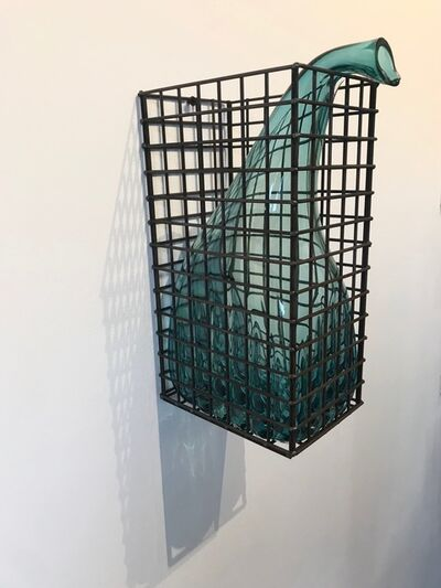 Marinke van Zandwijk, 'Caged glass bubble', 2017