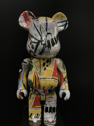 BE@RBRICK, 'JEAN-MICHEL BASQUIAT V1 1000%', 2018