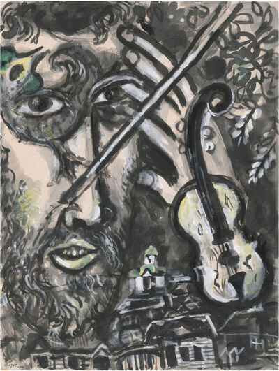 Marc Chagall, 'Le Violoniste', 1961