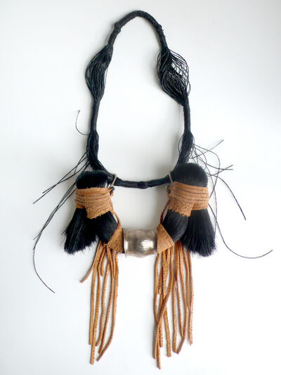Tabor and Villalobos, 'Black Horse Hair Necklace', 2011