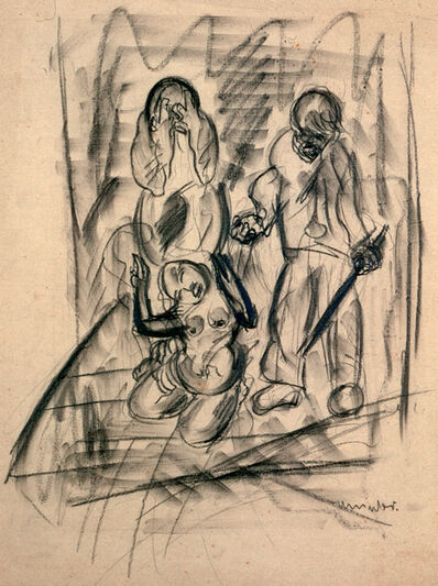 Fritz Winter, 'Untitled (3 Persons)', 1928