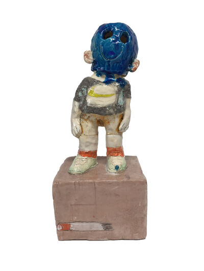 JC Earl, 'Skimask Goon (Blue)', 2019