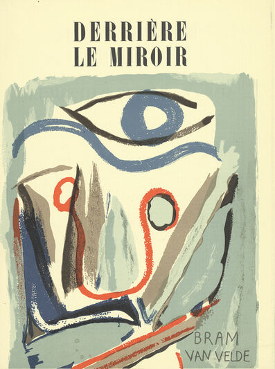 Bram van Velde, 'DLM No. 43 Cover', 1952