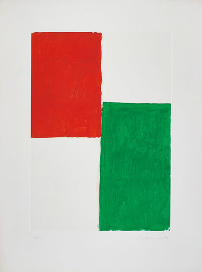 Blinky Palermo, 'Untitled, from Homage à Picasso', 1973