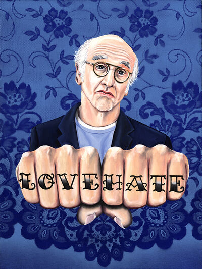 Jared Aubel, 'Larry David LOVE HATE', 2012-2019