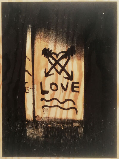 Stephan Balkenhol, 'LOVE', 2001