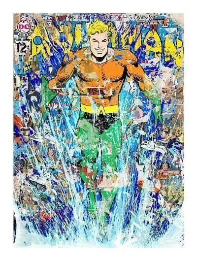 Mr. Brainwash, 'Aquaman', 2018