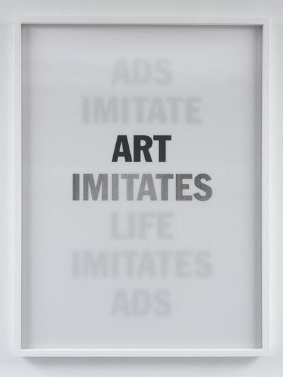 Hank Willis Thomas, 'Art Imitates Ads/  Imitates Life', 2013