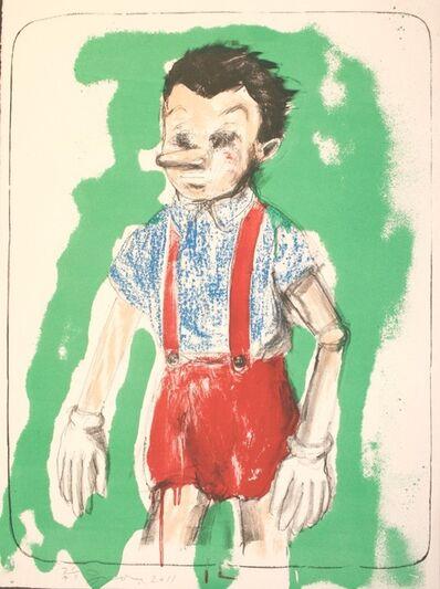 Jim Dine, 'Pinocchio', 2011