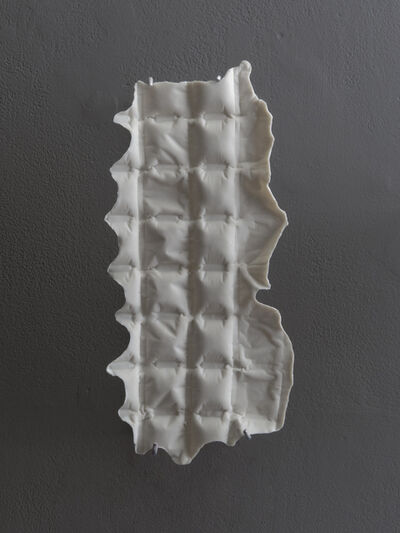 Cynthia Reynolds, 'air pillow packaging, square : one-and-a-half-inch, from impromptu mold', 2018