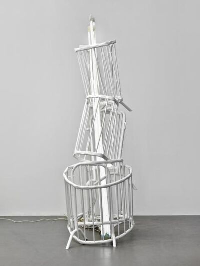 Bettina Pousttchi, 'Double Monuments for Flavin and Tatlin', 2010