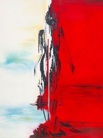 Nina K., 'Lady In Red', 2018