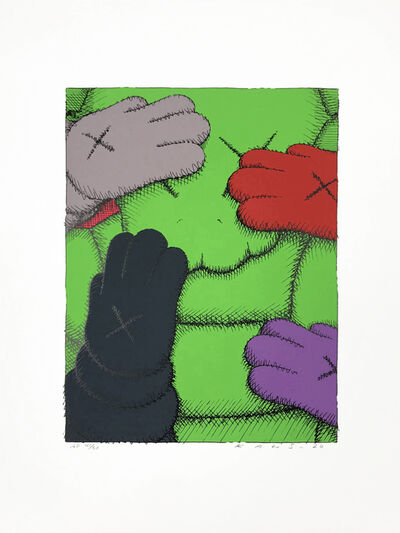 KAWS, 'PRINT 1 FROM URGE PORTFOLIO', 2020