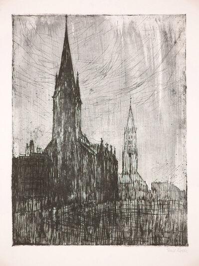Emil Nolde, 'Petri- und Jacobikirche, Hamburg ', 1910