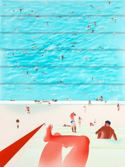 Yang-Tsung Fan, 'Swimming pool series -Public swimming pool 2', 2014