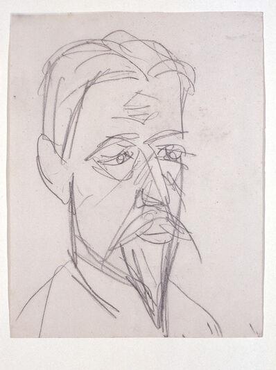 Ernst Ludwig Kirchner, 'Bildnis Professor Botho Graef (Portrait of Professor Botho Graef)', 1915