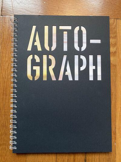 Tetsuya Kusu, 'Auto-Graph (Book)', 2018