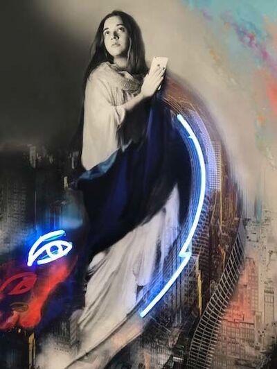 Marife Nuñez, 'Entre lo material y lo espiritual', 2016