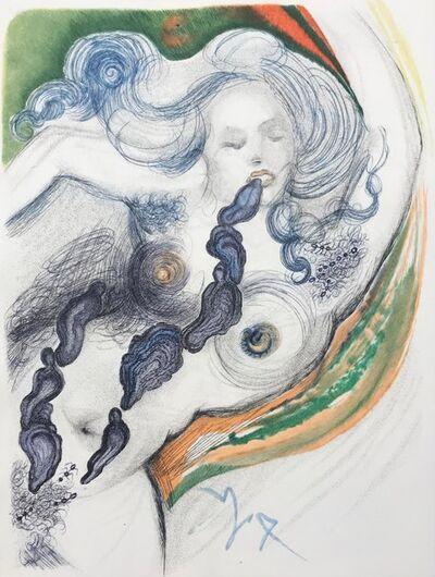 Salvador Dalí, 'Casanova - Oysters and nude', 1967