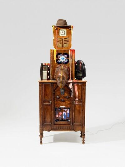 Nam June Paik, 'Robot (Radio Man, Joseph Beuys)', 1987