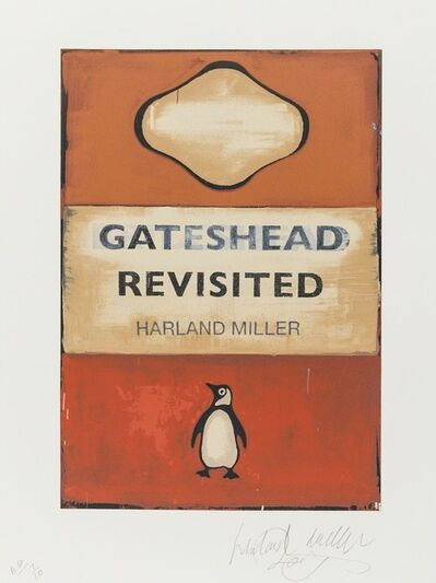 Harland Miller, 'Gateshead Revisited ', 2009