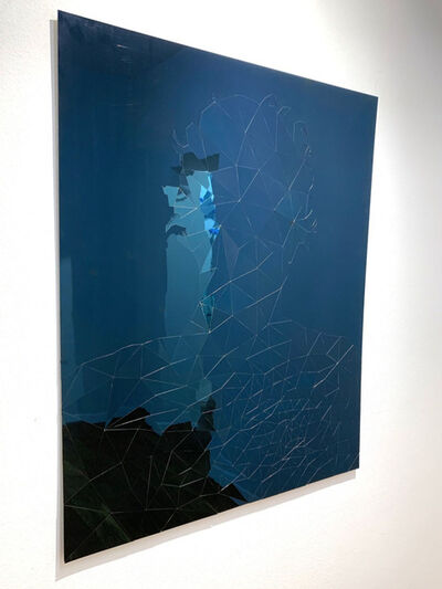 Daniele Sigalot, 'If You Show Me Your Empathy I'll Show You Mine (blue)', 2019