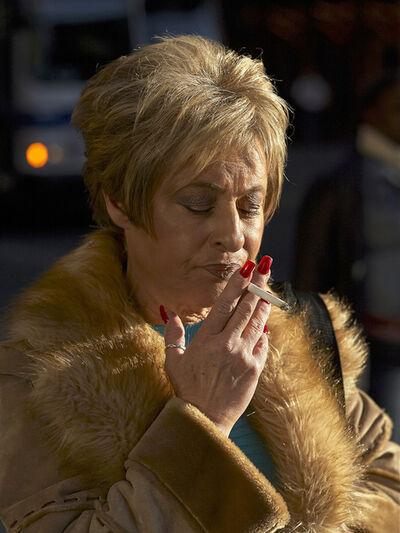 Paul Graham, 'Woman Smoking in Fur Coat', 2005 (2020)