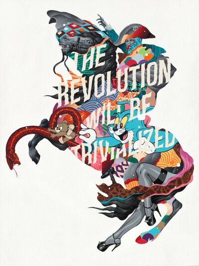 Tristan Eaton, 'The Revolution with be Trivialized', 2017