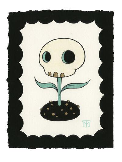 Tara McPherson, 'Skullflower', 2016