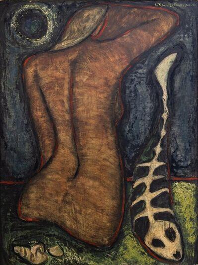 Eduardo Ramírez -Villamizar, 'Mujer en el mar', 1949