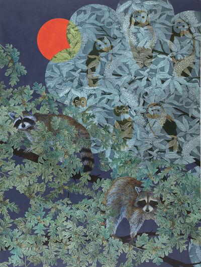 Julia Lucey, 'Nighttime Treetops', 2020
